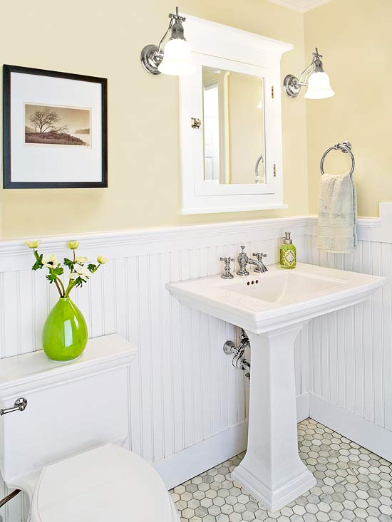 small bathroom vanities choosing the right vanity better homes and gardens bhgcom - Better Homes And Gardens Bathrooms