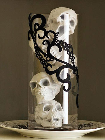 Spooky Skull Arrangement