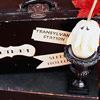 Creepy Destination Suitcase Labels