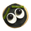 Wide-Eyed Halloween Cookie