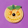 Candy Jack-o'-Lantern Cookie