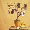 Fall Foliage Tree Centerpiece