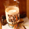 Family Photo Candle 