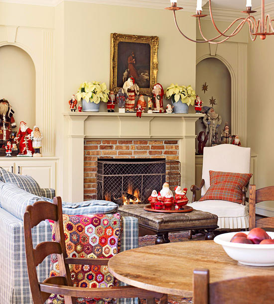 Decorate with Christmas Collectibles