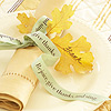 Thanksgiving Ribbon Napkin Ring