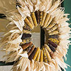 Dried-Corn Wreath