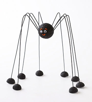 Long-Legged Spider Craft for Halloween