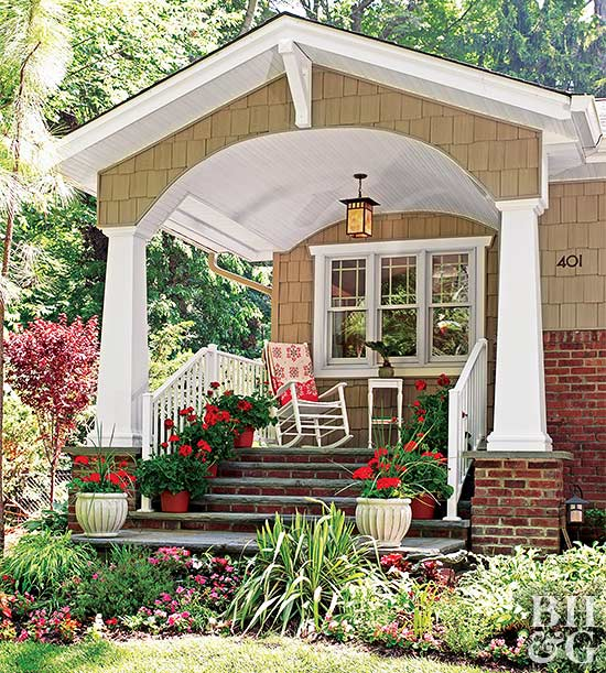 Curb Appeal for Front Porches