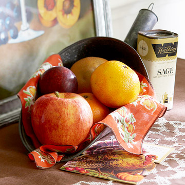 No-Fuss Thanksgiving Centerpieces