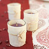 Cornhusk-Wrapped Votives