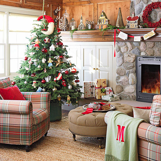 Add Country Charm to a Christmas Tree
