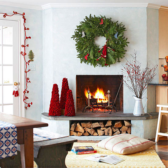 Add Cheer Without a Mantel