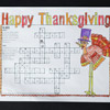 Crossword Place Mat