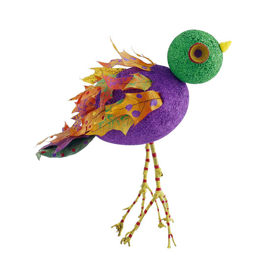 Colorful Bird for Kids to Craft for Thanksgiving