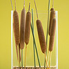 Cattail Thanksgiving Centerpiece