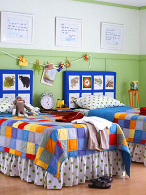 Creative Headboards for Kids' Rooms