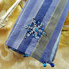 Beaded Snowflake Napkin
