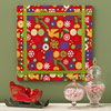 Wrapped Present Wall Decoration