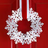 Glittery Snowflake Wreath