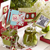 Christmas Card Arrangement Forks
