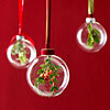 Holly Holiday Christmas Tree Ornaments