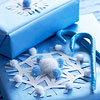 Snowflake Present Topper