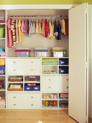 Storage Tips for Kids' Closets
