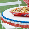 Patriotic Table Edging