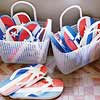 Patriotic Sandals Craft