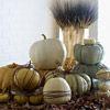 Wrapped-Pumpkin Display 
