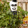 Skeleton Head Pumpkin