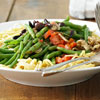 Green Beans with Peppers Pasta Salad