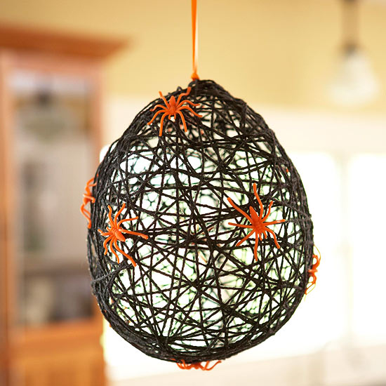 Spiderweb Balloon for Halloween