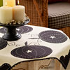 Felt Pumpkin Tablecloth