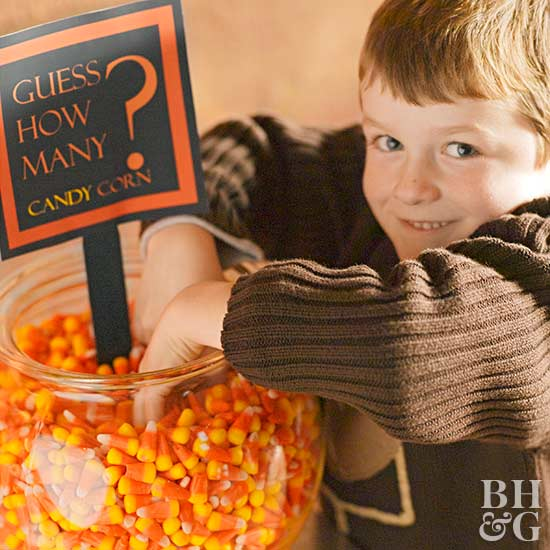 Candy Corn Guessing Game
