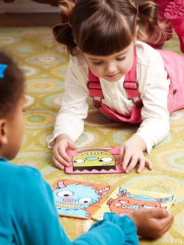 Monster Puzzle for Kids' Halloween Party