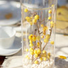 Yellow Berries and White Beans Centerpiece