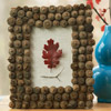 Acorn-Frame Leaf Artwork