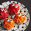 Spiky Monster Cupcakes