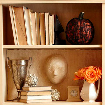 Ghosts in the Bookcase Halloween Project