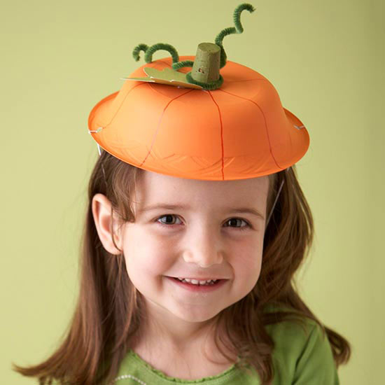 Fit Crafty Stylish And Happy Guest Bathroom Makeover: Painted Halloween Pumpkin Hat