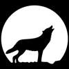 Howling Wolf Stencil