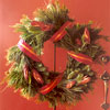 Ribbon-Wrapped Wreath