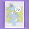 Retro Christmas Tree Card