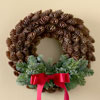 Pretty Pinecone Wreath