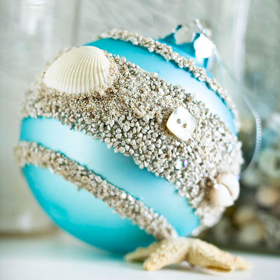 Seashell Christmas Tree Ornaments