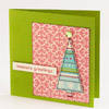 Pretty Pink Christmas Card