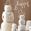 Festive Twine Snowmen