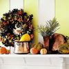 Bright Fall Mantel