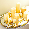 Beaded Candle Tray